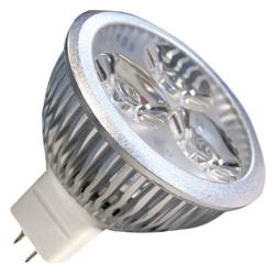 Caja 10 bombillas LED 3x2W (6W) MR16 G5,3 12V 6400K fria