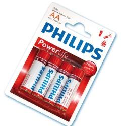 Caja 12 blisters de 4 unidades de pilas alkalinas LR-6 (AA) PHILIPS