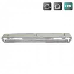 Pantalla Estanca T8 LED 1 x 120 cm (equivalente a 1x36W)