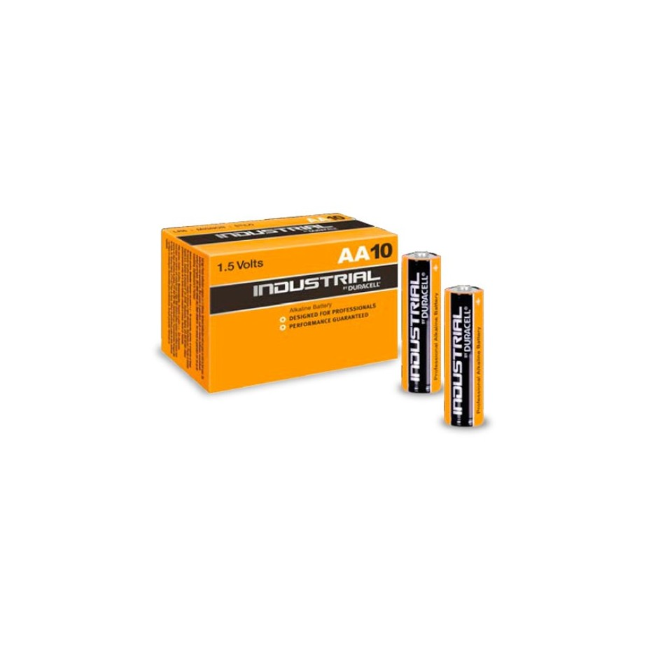 Caja 10 unidades Pilas Alcalinas LR06 AA Duracell Procell