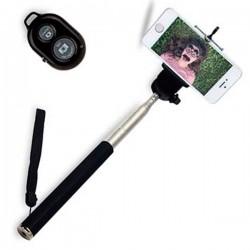 Mango Telescópico para Selfies Bluetooth