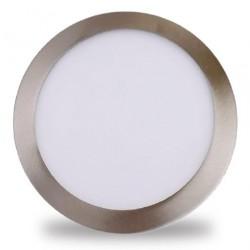 Downlight LED Ø225 mm empotrable 18W 1600Lm Blanco luz fría 6000K