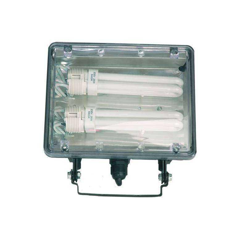 Foco halogeno con sujecci n giratoria variable para - Focos de bajo consumo para exterior ...