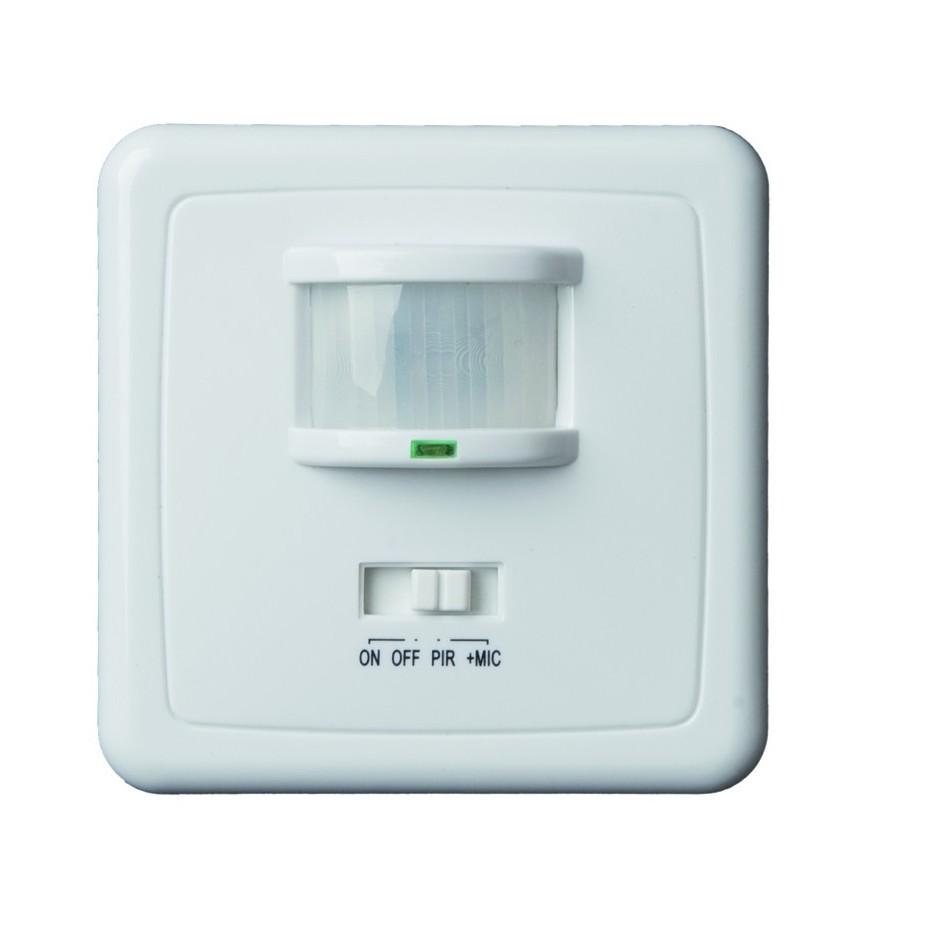Detector de movimiento de empotrar con un area de 140º.