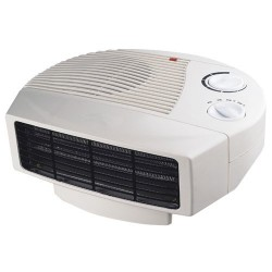 Calefactor Horizontal, 2 Potencias, 1000/2000W.