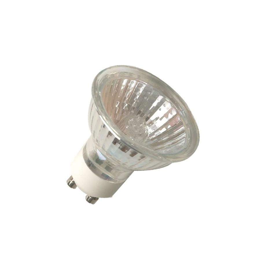 Caja 10 bombillas ECO halógena dicroica 50mm GU10 30W (50W)