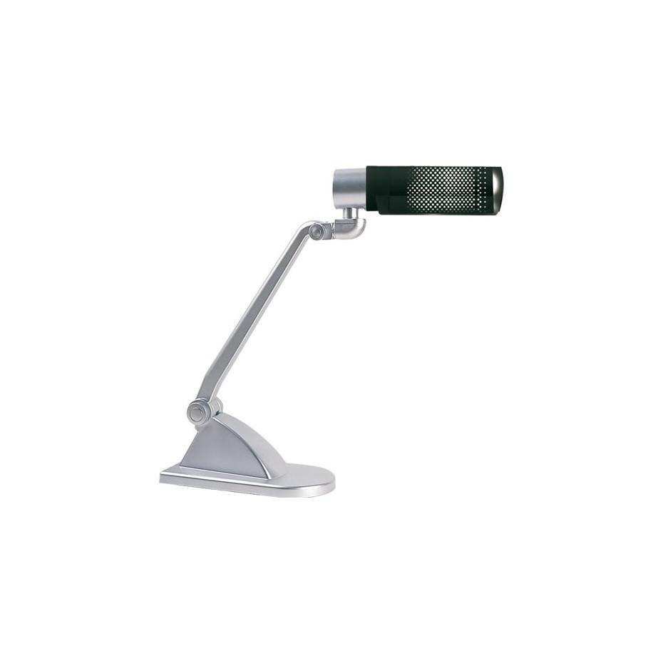 Lámpara Flexo de sobremesa Púrpura con bombilla de bajo consumo 20W E27 230V. 450x130x383mm.