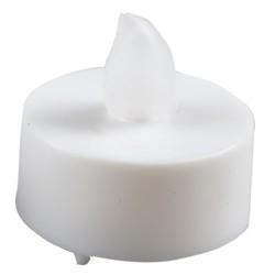 Vela decorativa pequeña LED Blanca parpadeante - Blister, 1 CR2032.