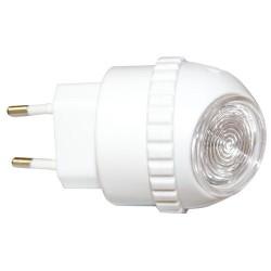 Luz de noche Esferica 1W 230V sensor crepuscular - En blister.