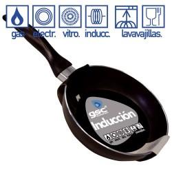 Sartén de inducción de 3 mm. de grosor, de 200 mm.