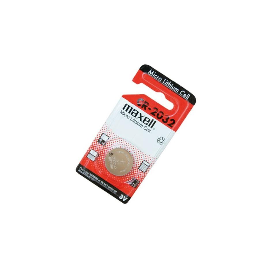 Caja 20 U. Pila de Lithio CR2032 3 V Maxell.