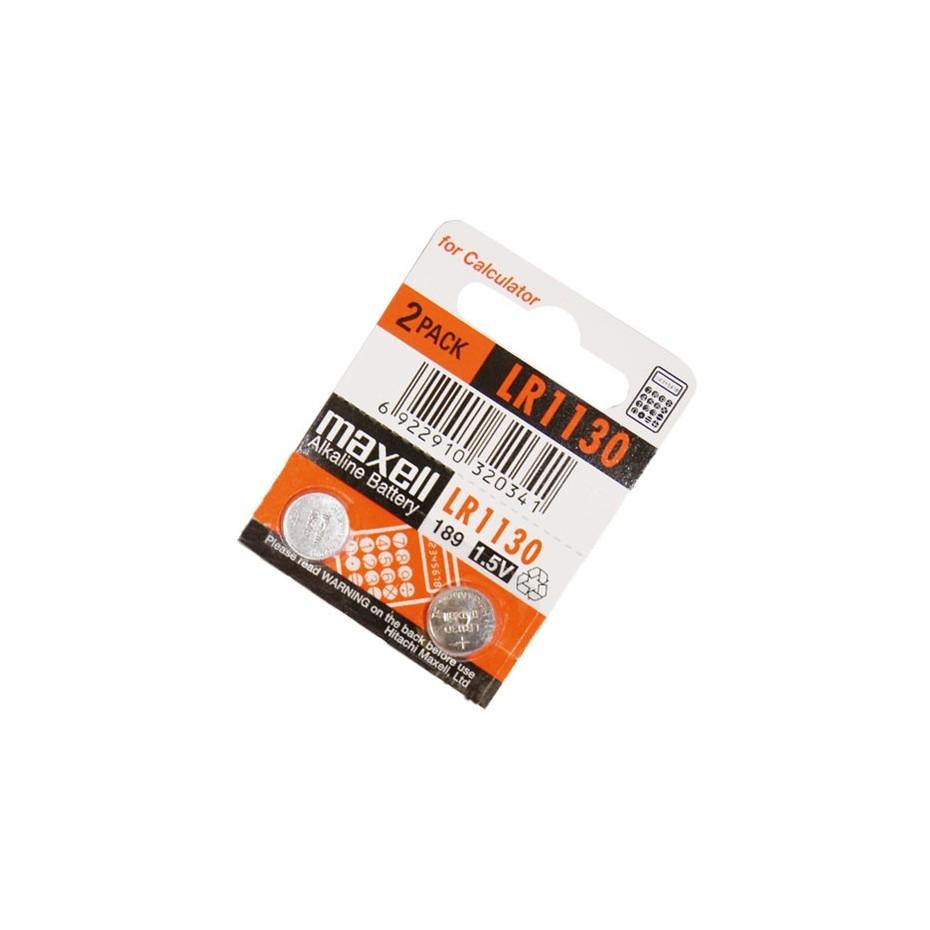 Caja 10 u. Pila alcalina LR1130 1,5 V Maxell