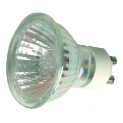 Caja 10 bombillas halógena dicroica cerrada 50mm diámetro-EXN-60 230V modelo GU10 50W