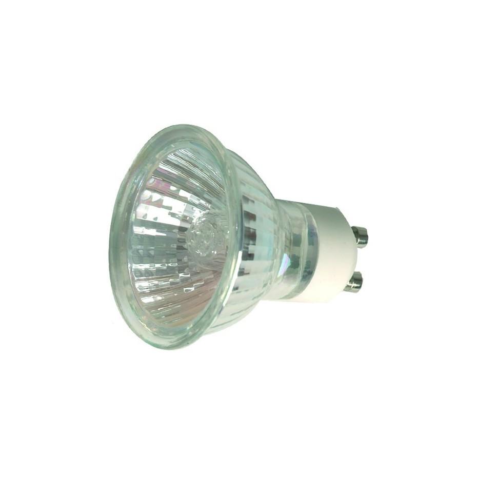 Caja 10 bombillas halógenas dicroica GU10 50W 60º
