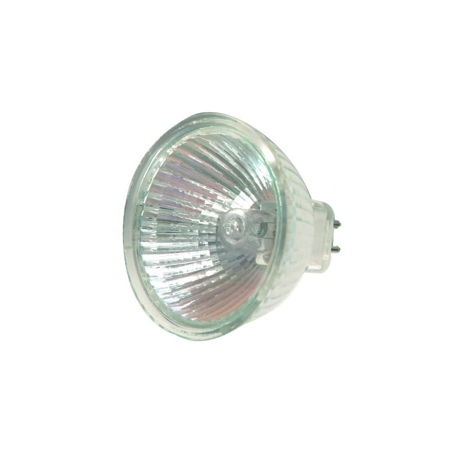Caja 10 bombillas halógenas dicroica MR16 50W 36º