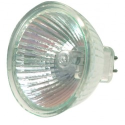 Caja 10 bombillas halógenas dicroica MR16 50W 60º