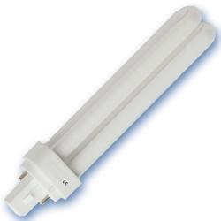 Caja 10 bombillas bajo consumo PLC G24d 2pin 26W 4200K fría