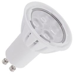 Bombillas LED GU10 cerámica 6,8W (4x2W) 6000K fría