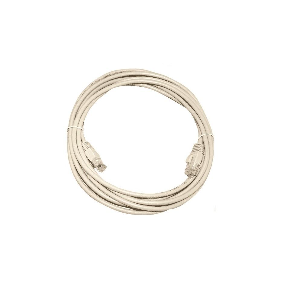 Cable internet conexión UTP CAT 5e 1,5metros.