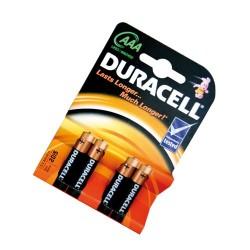 Caja 10 blisters de 4 pilas alkalinas Basic LR-03 (AAA) DURACELL