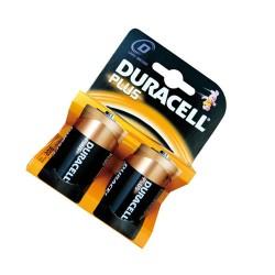Caja 10 blisters de 2 unidades de pilas alkalinas Plus LR-20 (D) DURACELL