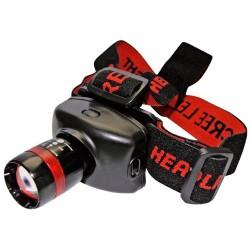 Linterna de cabeza de LED CREE 3W