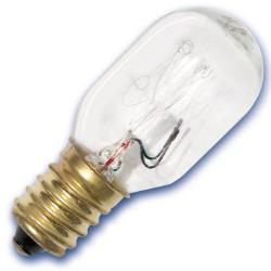 Caja 10 bombillas frigoríficos tipo tubular 240V 25W E14