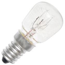 Caja 10 bombillas frigoríficos tipo pebetera 240V 15W E14