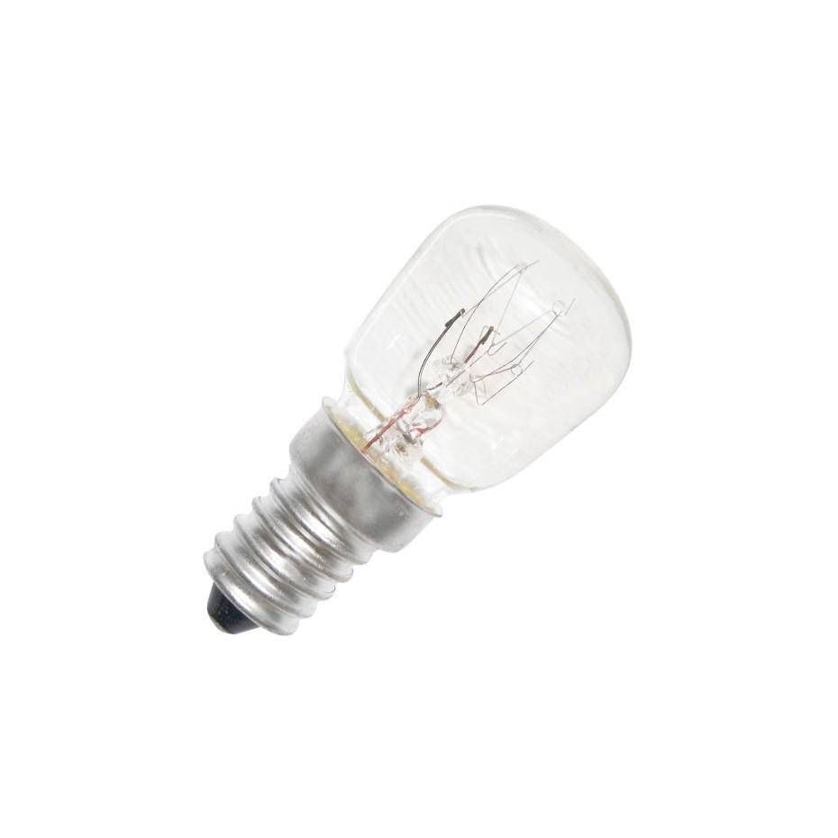 Caja 10 bombillas frigoríficos tipo pebetera 240V 25W E14