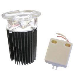 Lámpara de 3 Leds CREE de ultrabrillo 3x3W Cálida 3000K
