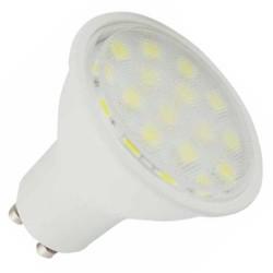 Lámparas LED GU10 de 5W de 120º luz fría