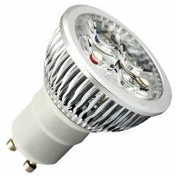 Bombillas LED GU10 6W 38º 6400K fría