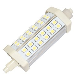 Lámpara LED lineal R7s 8W 118mm.