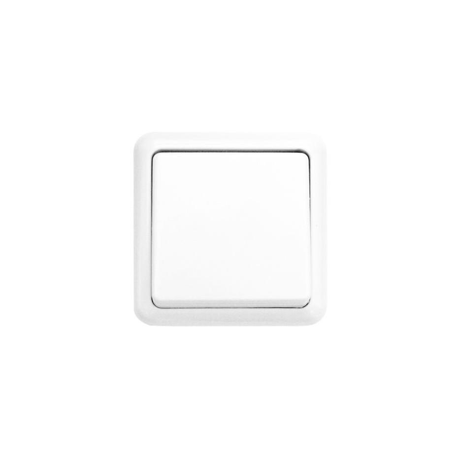 Interruptor de Superficie Blanco