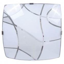 Plafón de techo cuadrado Blanco decorativo