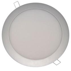 Downlight redondo empotrable de LED 18W Blanco