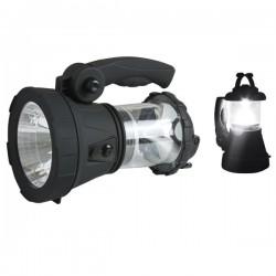 Linterna Cañón de luz Multiusos Recargable de 1W