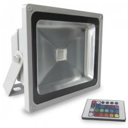 Proyector de LED RGB de 30W con mando a distancia