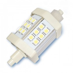 Lámpara LED lineal R7s 4W 78mm. 320 lm fría