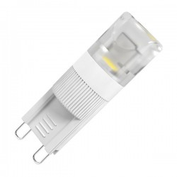 Caja 10 bombillas LED Mini G9 2W 90Lm 3000K cálida