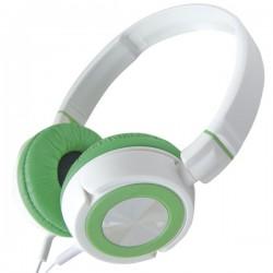 Auricular de casco stereo de Ø50 mm 1,5m Blanco