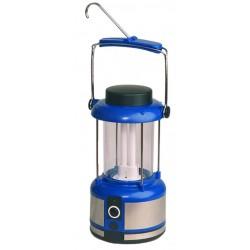 Linterna de camping bajo consumo recargable con cargador casa y coche.