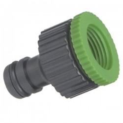 Conector para manguera PVC con STOP