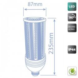 Bombillas LED E27 36W 4320 Lumens luz fría