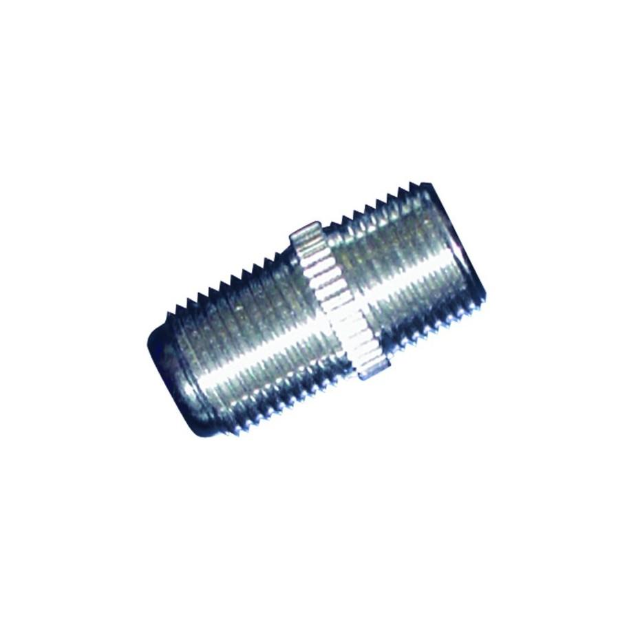 Adaptador metal F hembra a F hembra