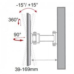 Soportes para monitores de plasma/LCD de 23
