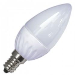 bombillas Vela LED 5W 470 Lm E14 3000K cálida
