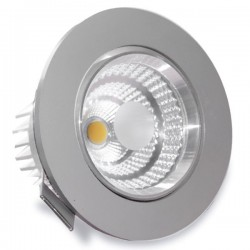 Mini Downlight LED 7,5W 3000K empotrable redondo