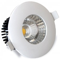 Aro Empotrable IP44 LED COB 6W 540 Lm Cálido Blanco
