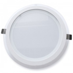 Downlight LED empotrable de 22W 2200 Lm Blanco con luz día